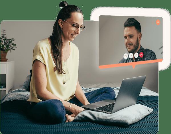 Vyzkoušejte párovou psychoterapii přes videohovor